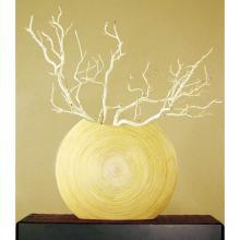 "18"" Natural Top-Opening Circle Vase"