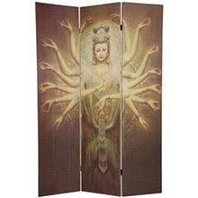 1000 Arm Kwan Yin Shoji Screen