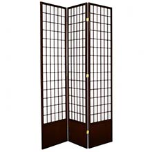 "84"" Window Screen (Walnut Finish)"