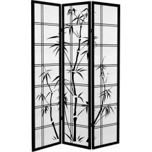 Canvas Bamboo Tree (Black Finish)